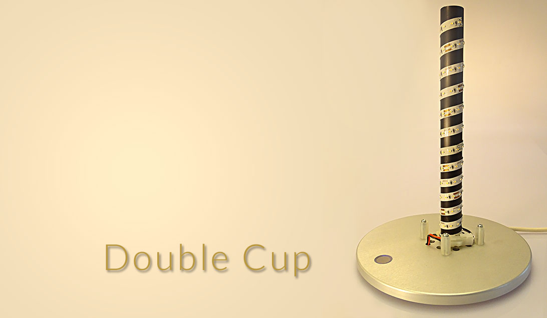 Double cup beam